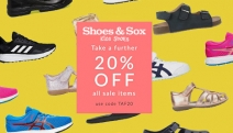 Treat Your Little Ones Feet w/ New Shoes for Less! Take a Further 20% Off the Shoes & Sox Sale! Code: TAF20. School Shoes, Slides, Sneakers & More