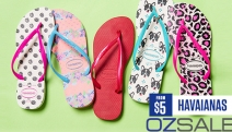 Are Your Feet Summer Ready? Stock Up On Havaianas Thongs Starting From Just $5! Choose from Heaps of Styles, Colours & Sizes. Plus P&H