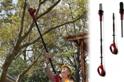 Save Time & Energy Tidying Up the Yard with a Cordless Tree Lopper! Incl. Rechargeable Battery & Can Cut Branches Up To 15cm Thick. Plus P&H