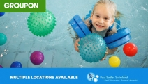 Ensure Your Little One is Confident in the Water w/ Up to 10 Swimming Lessons @ Paul Sadler Swimland! Kids from 6-Mths to 12-Yrs. Incl. Assessment