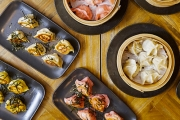 Eat Your Fill w/ 90 Mins of All-You-Can-Eat Chinese Dumplings + Glass of Wine at MODU! Opt for Boiled, Steamed or Pan-Fried, 4 Flavours