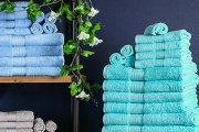 Restock Your Linen Supply with Luxury Meridian Towel Packs! 600GSM Hotel Quality Bath Towels Come in 2, 4, 5, 7 or 14 Piece Sets in Stylish Shades