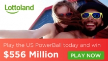 Buy a Private Island or Anything You Want w/ a Massive Half a Billion US Dollars in the US Powerball Draw on Sunday! Enter Now for Your Chance to Win!