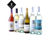 Raise a Glass w/ a Mixed Dozen of Premium White & Rosé Wines Incl. Delivery! Mix of Sauvignon Blanc, Chardonnay, Moscato & Rosé from SA & NZ Wineries