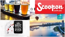 Make Dad Feel Special w/ Cool Father's Day Presents @ Scoopon! Enjoy Some of the Best Activities & Products Incl. Beer Brewing, Indoor Shooting & More