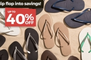 Get Your Hands on the Havaianas Sale & Make Your Feet Happy w/ the Classic Brazilian Sandal! Heaps of Colours to Choose From - Plus P&H