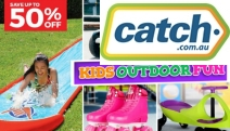 Keep the Kids Entertained Away from Screens with Up to 50% Off Outdoor Fun for Kids! Shop the Slip 'N Slide Triple Racer, Roller Skates & Lots More