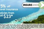 Travel w/ Peace of Mind w/ 15% Off Travel Insurance at InsureandGo! Incl. Unlimited Overseas Medical Cover, Kids Go Free w/ Mum or Dad & More
