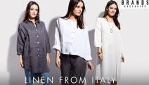 Perfect Your Weekend Style with Italian Linen Clothing! Combining Great Designs w/ Comfort & Affordability, it's a Must for Every Wardrobe. Plus P&H