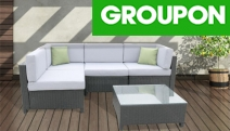 Relax on Contemporary Designed Milano Outdoor Rattan Sofa Set. Sets of 5, 7 & 9 Allow Different Seating Configurations to Suit Any Outdoor Space