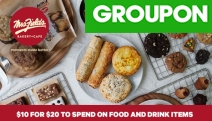 Enjoy Sweet Moments @ Mrs. Fields Bakery Cafe w/ $20 to Spend on Food & Drinks for $10! Soft-Baked Cookies, Fudgy Brownies, Award-Winning Coffee & More