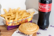 Fill Up with Your Choice of Hand-Crafted & Fresh-Baked Pie Plus Large Chips & a 600ml Drink at Jesters Pies for Just $9! Multiple Locations