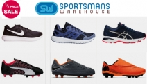Go After Your Goals with the Half Price Sale on Select Shoes from Sportsmans Warehouse! Shop a Range of Footwear from Nike, Adidas, Puma & More