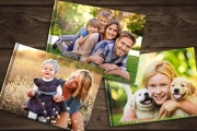 Showcase Your Fave Memories w/ a Personalised Hardcover Photobook! Professionally Printed on 150GSM Paper w/ Gloss Protective Coating. Range of Styles