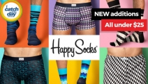 Keep Your Feet Happy with the Fun and Colourful Collection of Socks and Underwear from Happy Socks! Makes a Great Stocking Stuffer Idea