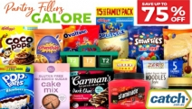 Stock Up Your Pantry with Up to 75% Off Pantry Fillers Galore! Grab Great Savings on Canned Food, Breakfast Items, Tasty Snacks, Coffee & More