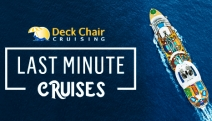 Snap Up Great Discounts on Last Minute Cruises @ Deck Chair Cruising! National & International Cruises from P&O & More, Departing in 75 Day or Less
