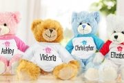 Get Your Loved One the Bear-y Best Present w/ an Adorable Personalised Teddy Bear for Just $17! Perfect for Birthdays, Graduations, Baby Showers & More