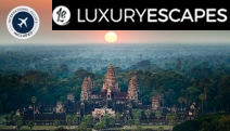 CAMBODIA w/ FLIGHTS 7-Day Small Tour! Ft. Angkor Wat, Siem Reap's Floating Villages, Phnom Penh Palaces & More. Deluxe Hotels, Transfers & More
