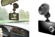 Stress Less While Driving with a HD Dash Cam! Features a 2.4'' LCD Display, Wide Angle Lens, Video & Audio Playback & More. Plus P&H