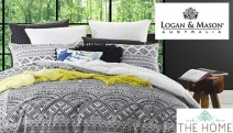 Don't Miss the Grand Logan & Mason Sale! Quilt Cover Sets, Cushions, Towels & More! Luxe Materials & Imaginative Design to Update Your Home for Less