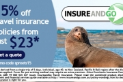 Last Chance to Save w/ 15% Off Travel Insurance at InsureandGo! Overseas Medical Cover, Kids Go FREE w/ Mum or Dad, 24hr Emergency Assistance & More