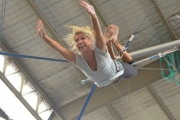Soar Through the Air with a 2-Hour Indoor Flying Trapeze Class at Sydney Trapeze School, St Peters! Incl. Take-Home USB of Photos. Opt to Bring a Buddy