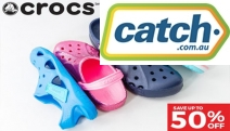 Insanely Comfortable Styles for All Feet! Save Up to 50% Off Crocs for the Whole Family! The Iconic Clogs to Boots, Sandals & Thongs Plus New Styles