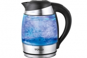What Drink Breaks the Ice? Flirt-Tea! Brew the Perfect Cuppa w/ a 1.8L LED Glass Kettle! Heat-Resistant Glass, Auto Shutdown, Removable Filter & More