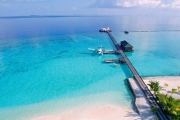 ALL-INCLUSIVE MALDIVES Stunning 5-Night Escape at 4* Adaaran Select Meedhupparu! Stay in a Beach Villa & Enjoy All Meals Plus Seaplane Transfers