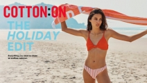 Chase an Endless Summer with the Holiday Edit at Cotton On! New Season Swimwear in a Range of Styles & Sizes - Bikinis, One Pieces, Cover Ups & More!