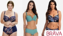 Ladies, Enhance Your Curves with Stylish & Comfy Lingerie with the Brava D+ Cup Sale! Shop a Range of Bras, Briefs, Thongs, Suspenders & More