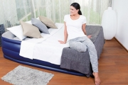 Give Guests a Good Nights Sleep with a Double Size Inflatable Air Bed for Just $39! With Built-In Pillow & Foot Pump. Designed for Indoor & Outdoor Use