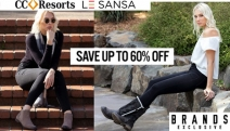 Don't Compromise on Comfort with this Stylish Range of CC Resorts & Le Sansa Footwear! Save Up to 60% Off Must-Have Boots, Sandals, Flats & More