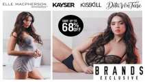 Ladies This One's For You! Save Up To 68% Off Big Brand Lingerie! Includes Kayser, Elle Macpherson Intimates, Dita Von Teese, Bonds & More!