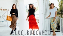 Take on the Warm Season in Bright & Flattering Skirts from Blue Bungalow! Shop a Range of Colours & Designs for Work, Lunch Dates & Weekend Outings
