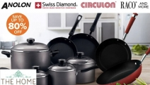Unleash Your Inner Gourmet Chef with Big Brand Cook Sets! Save Up to 80% Off Analon, Tefal, Circulon, Scanpan & More. Ft. Non-Stick Cookware & More