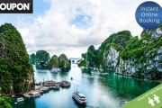 VIETNAM Explore the Gems of North & South Vietnam on a 14-Day Getaway Tour! Incl. Accommodations, Cruise, Domestic Flight, Transfers and More