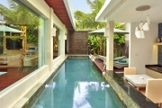 BALI 5-Night Private Pool Villa Luxury at The Leaf Jimbaran! Only $999 for 2-Ppl. Incl. Brekkie, Dining Experiences, Massages, Cocktails, WiFi & More