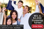 Hey Big Spender! Complete a Short Survey for Your Chance to Win a $2,000 Shopping Spree, Valid for JB HI-FI, KMART, Westfield & More!