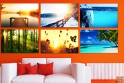 Spruce Up Your Wall with Custom Wall Art Canvas Prints from Fabness! Hundreds of Different Styles Incl. Landscapes, Animals, Abstract & More. 4 Sizes