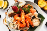 Dive into a Spectacular Seafood Platter + Sides for 2 @ Sails Waterfront Bar & Grill, Georges River Sailing Club! Smoked Salmon, Fresh Prawns & More