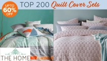 Style it Up this Season w/ the Top 200 Spring Quilt Cover Sets Sale! Stock Up w/ Up to 60% Off Big Brands Bambury, Gioia Casa, KAS, Sheridan & More