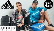 Achieve Your Fitness Goals in Style w/ the Adidas Apparel, Footwear & Accessories Sale! Shop Up to 42% Off Track Pants, Sneakers, Gym Bags & More