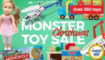 Finish Off Your Christmas Shopping List w/ the Monster Christmas Toy Sale! Shop Lego, Nerf, Kites, Art Kits, Musical Instruments & More