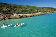 GREAT KEPPEL ISLAND Pack Your Bags for a Spectacular 3-Night Tropical Retreat for 2 at Great Keppel Hideaway! Inc. Daily Brekkie, Kayaking & More