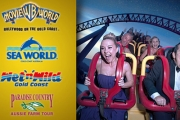 Love Theme Parks? Then You'll Love UNLIMITED VIP Entry to Sea World, Movie World, Wet'n'Wild & Paradise Country 'Til June 2016! Just $89.99 Per Pass