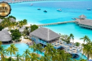 ALL-INCLUSIVE MALDIVES 5 Nights in an Overwater Lagoon Villa @ Brand New Finolhu Island Resort! Incl. ALL Meals, Spa Treatments, Activities & More