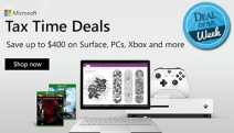 Power Your Ideas with a Tax Time Tech Deal from Microsoft! Save Up To $400 on Surface, PCs, Xbox & More! Hurry, Sale Ends June 30!