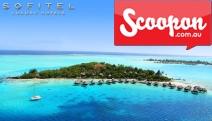 BORA BORA 5-Night Paradise Escape at 5* Sofitel Bora Bora Private Island Resort w/ Comfort Package, Incl. Brekkie, Sunset Champagne, Gift & More